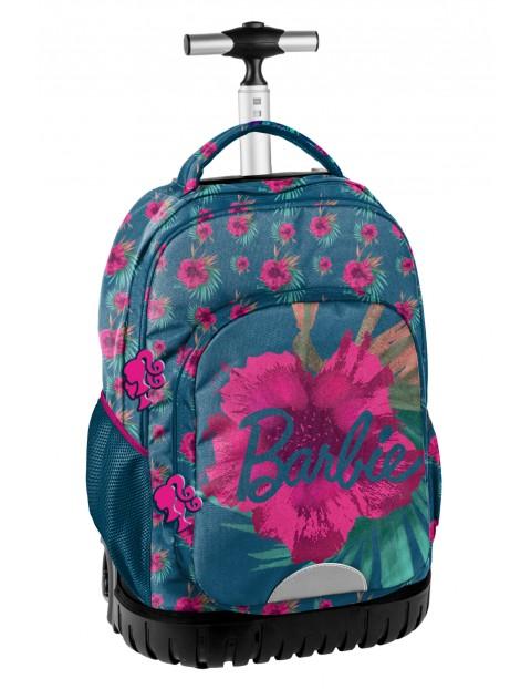 Plecak szkolny na kółkach Barbie