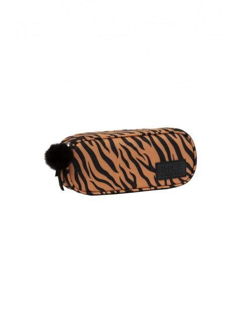 Piórnik dziewczęcy Tygrys