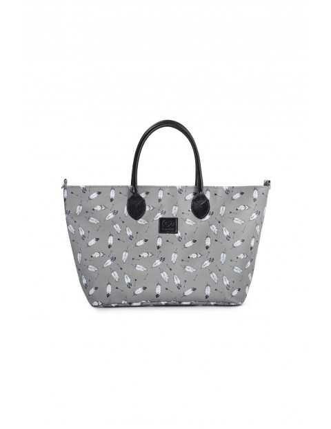 Torba Mommy Bag szara