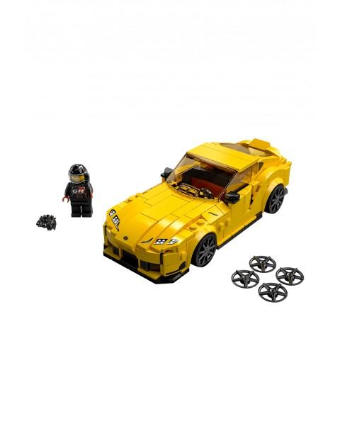 LEGO Speed Champions - Toyota GR Supra - 299 elementów, wiek 7+