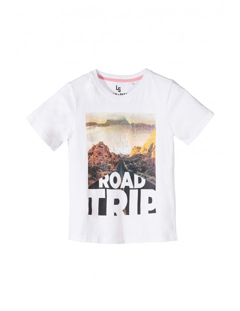 T-shirt dla chłopca- Road Trip