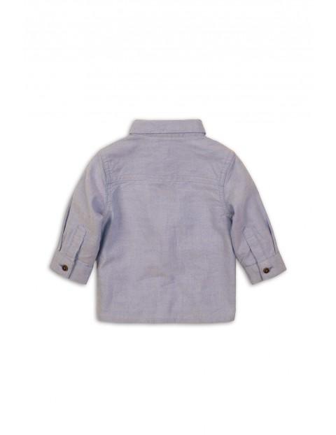 Koszula niemowlęca bawełniana z długim rękawem