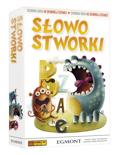 Gra edukacyjna dla dzieci- SłowoStworki wiek 6+