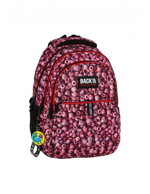 Plecak szkolny BACKUP w malinki