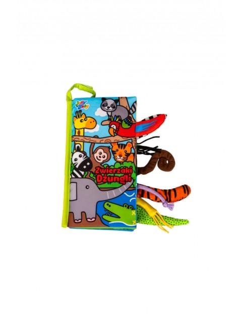 Książka Zwierzaki Dżungli wiek 0+