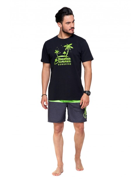 T-shirt bawełniany o regularnym kroju Summer