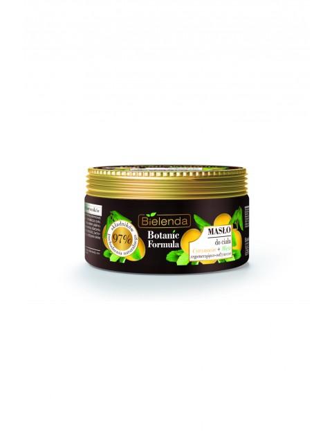 BOTANIC FORMULA Cytrynowiec + Mięta Masło do ciała Bielenda - 250 ml