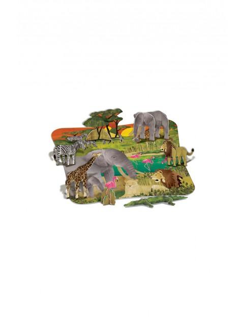Puzzle 3D- Safari