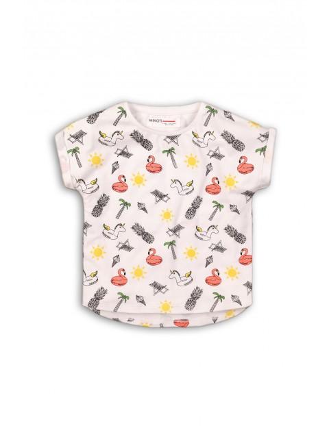 T-shirt niemowlęcy w kolorowe wzorki
