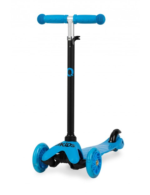 QKIDS LUMIS -Hulajnoga niebieska z kołami LED wiek 3+