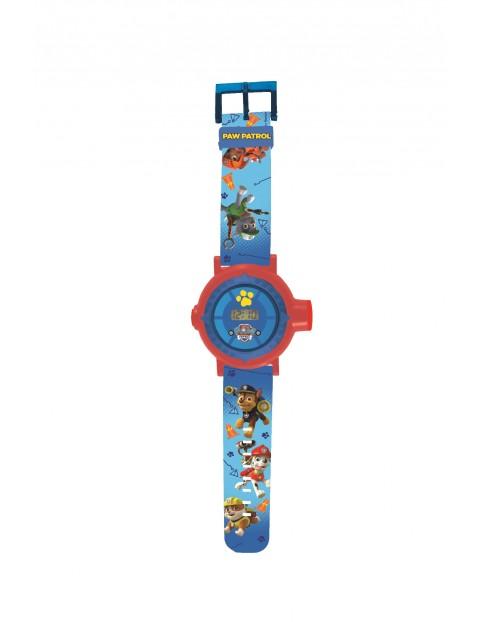 Cyfrowy zegarek z projektorem Psi Patrol