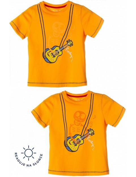 T-shirt dla chłopca- reaguje na promienie słoneczne