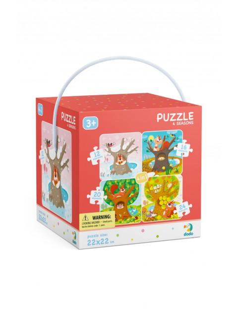 Puzzle 4w1 Pory Roku wiek 3+