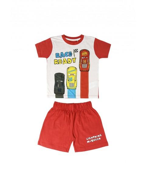 Piżama chłopięca z krótkim rękawem Cars