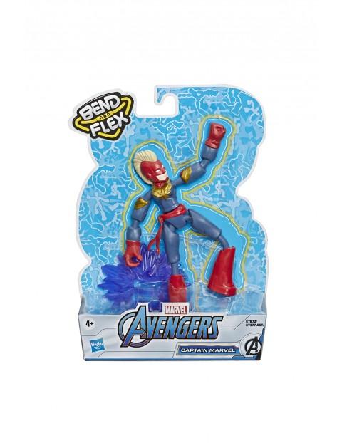 Figurka Kapitan Marvel - Avengers Bend n Flex 15cm