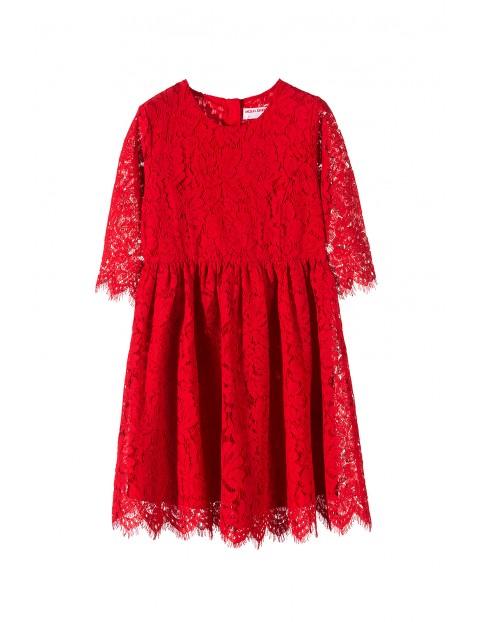 Sukienka dziewczęca 4K3508