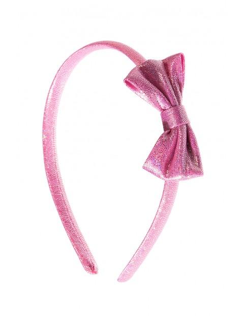 Opaska do włosów różowa 4Y3534