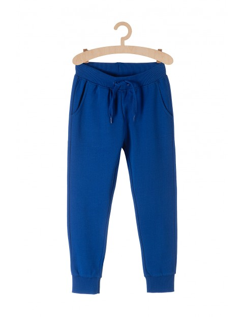 Desowe spodnie z kieszeniami dla chłopca