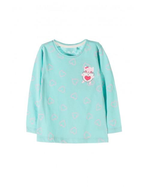 Bluzka dziewczęca 100% bawełna 3H3550