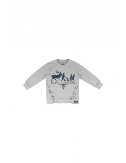 Bluza dresowa dziewczęca Frozen 2 - szara