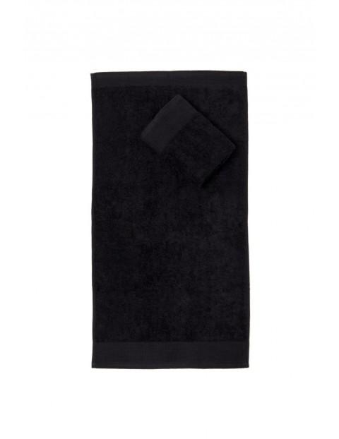 Ręcznik Aqua Frotte w kolorze czarnym 70x140cm