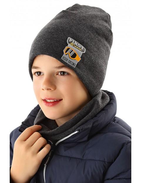 Czapka zimowa dla chłopca 1X35AM