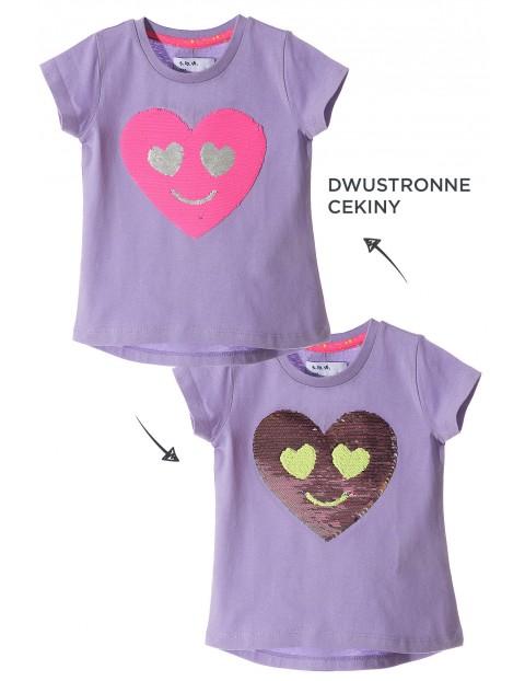 T-shirt dziewczęcy 3I3401