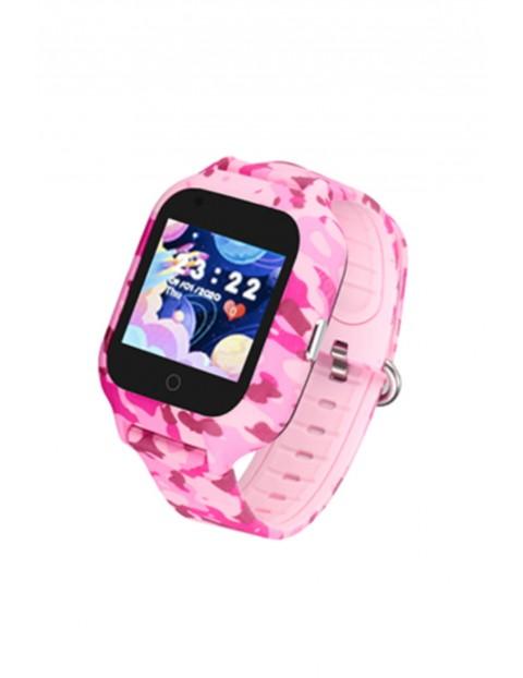 Smartwatch Garett Kids Moro 4G - różowy