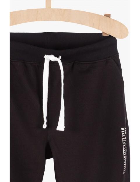 Spodnie dresowe męskie - czarne