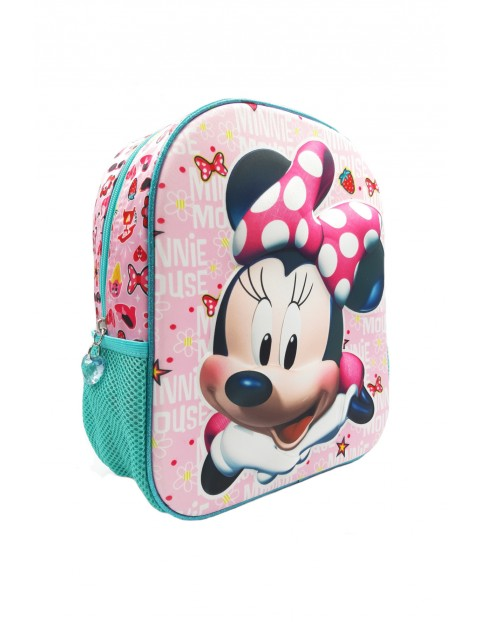 Plecak dziewczęcy Myszka Minnie - różowy