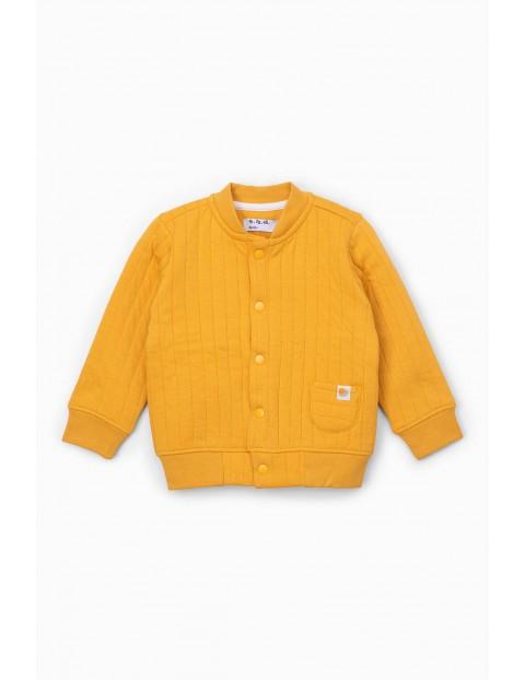 Pikowana bluza dresowa dla niemowlaka