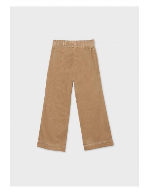 Bawełniane spodnie dziewczęce rozm 128