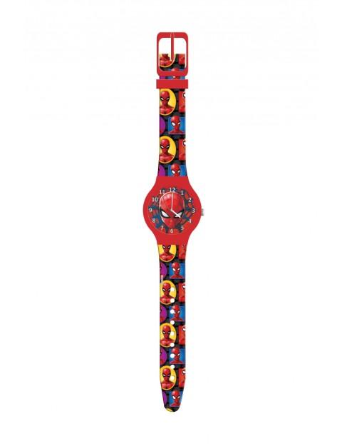 Zegarek analogowy w pudełku SPIDERMAN