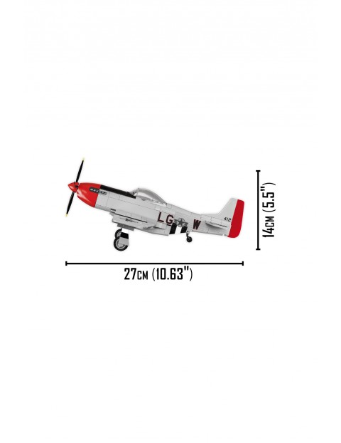 Klocki Cobi Mustang P-51 D - 265 klocków wiek 6+