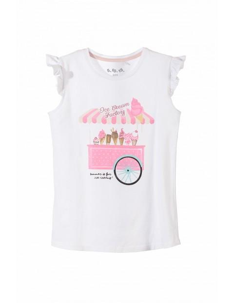 T-shirt dziewczęcy 3I3428