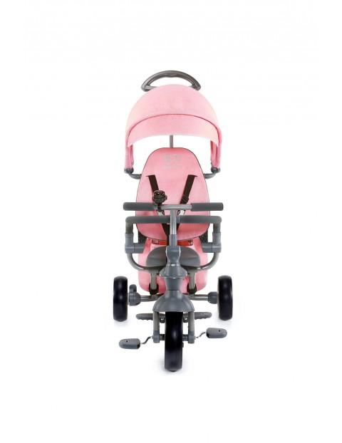 Rowerek trójkołowy Jazz różowy Kinderkraft 9msc+