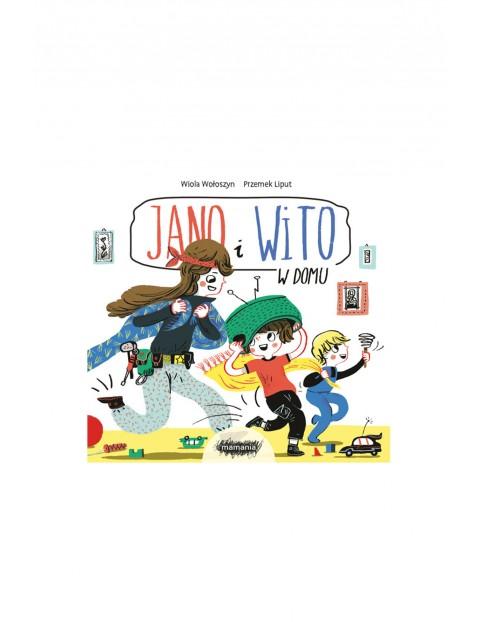 """Książka dla dzieci """"Jano i Wito. W domu""""- W. Wołoszyn, P.Liput"""