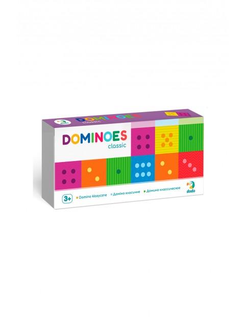 Domino klasyczne - 29 elementów wiek 3+