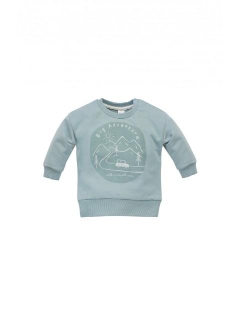 Bawełniana bluza dla niemowlaka