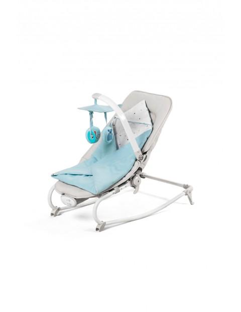 Leżaczek niemowlęcy niebieski 5Y34CH