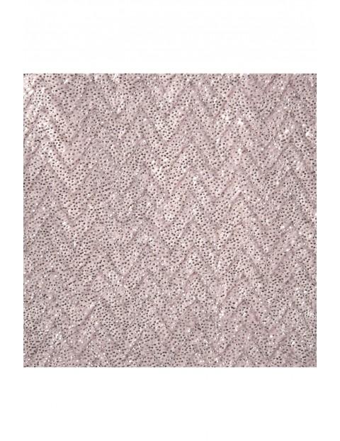 Koc z miękkiego mikroflano - różowy - 70x160cm