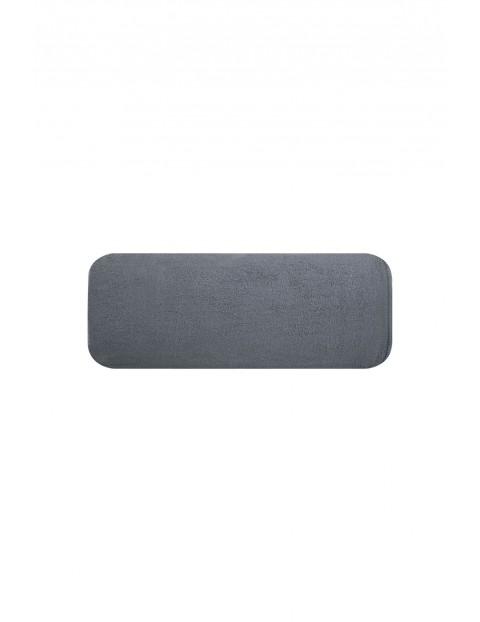 Ręcznik frotte gładki szary 50x90cm