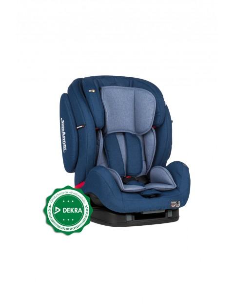 Fotelik samochodowy Prime II Isofix, niebieski 9-36 kg