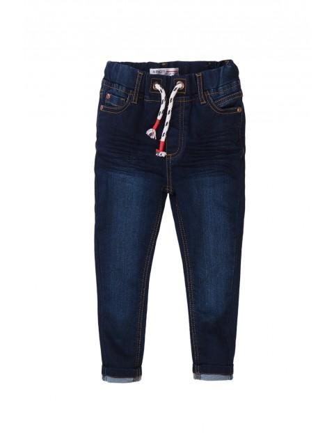 Spodnie jeansowe dla chłopca granatowe