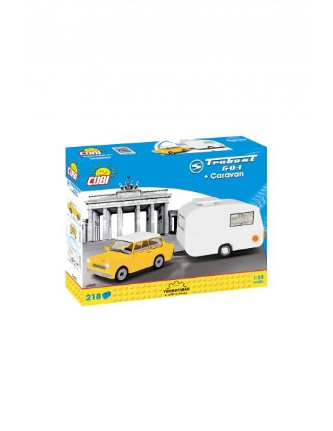 Cars Trabant601+Caravan 218 el.