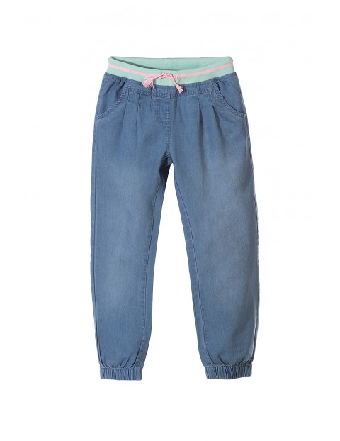 Spodnie dla dziewczynki 100% bawełna