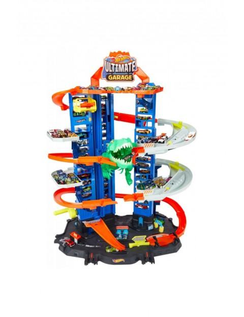 Hot Wheels City Mega Garaż T-Rexa wiek 4+