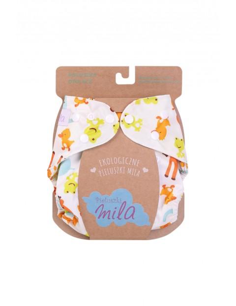 Otulacz na pieluszki wielorazowe Mila - wzór ZOO 3-15kg