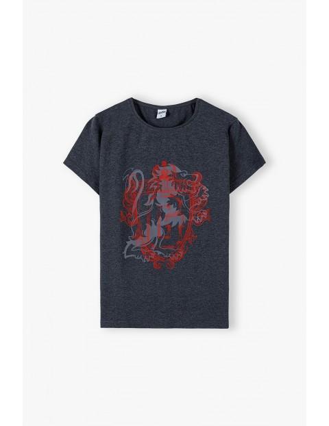 T-shirt damski Harry Potter - szary