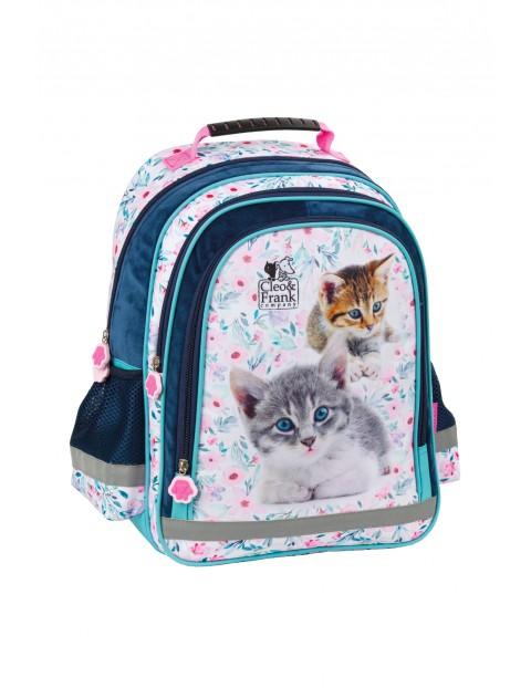 Plecak szkolny dla dziewczynki Cleo i Frank